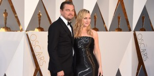 Leonardo DiCaprio e Kate Winslet (Jordan Strauss/Invision/AP)